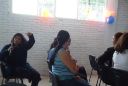 Participación de los estudiantes en el cineforo