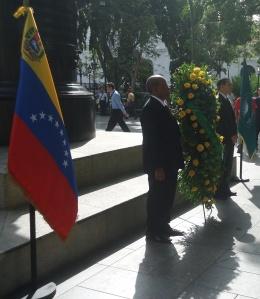 Viceministro Bolívar y Embajador Melanio